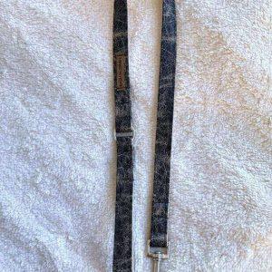 dog leash black marble